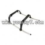 YD-9805-parts-05 Landing Skid