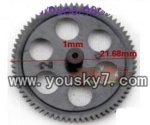 YD-9805-parts-12 Lower main gear