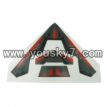 YD-9806-helicopter-parts-07 UFO Fuselage