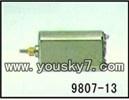 YD-9807-parts-13 Rear motor set-Short shaft