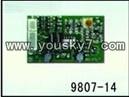 YD-9807-parts-14 PCB BOX,Receiver board