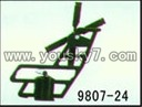 YD-9807-parts-24 Tail rotorrack