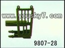 YD-9807-parts-28 Left missile parts