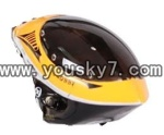 YD-9808-helicopter-parts-02 head cover(Yellow)