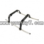 YD-9808-helicopter-parts-05 Landing Skid