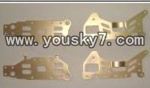 YD-9808-helicopter-parts-31 Metal frame(4pcs)