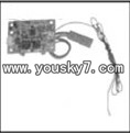 YD-9811-helicopter-parts-31 Receiver board
