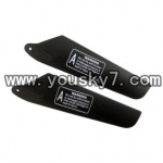 YD-9815-helicopter-parts-07 Upper main rotor blade(2pcs)