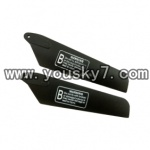 YD-9815-helicopter-parts-08 Lower main rotor blade(2pcs)