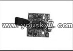 YD-9815-helicopter-parts-14 PCB board,Receiver board