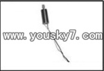 YD-9815-helicopter-parts-16 Main motor B-Short shaft