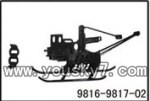 YD-9816-helicopter-parts-02 Landing skid