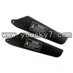 YD-9816-helicopter-parts-07 Upper main rotor blade(2pcs)
