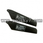 YD-9816-helicopter-parts-08 Lower main rotor blade(2pcs)