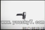 YD-9817-helicopter-parts-19 Tail cover for Tail motor