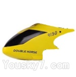 Double horse 9130 Parts-03 Head cover,Shell-Yellow