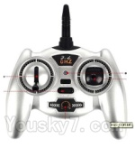 Double horse 9130 Parts-24 Transmitter