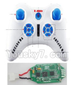Double Horse 9137 parts-06 Transmitter & Circuit board