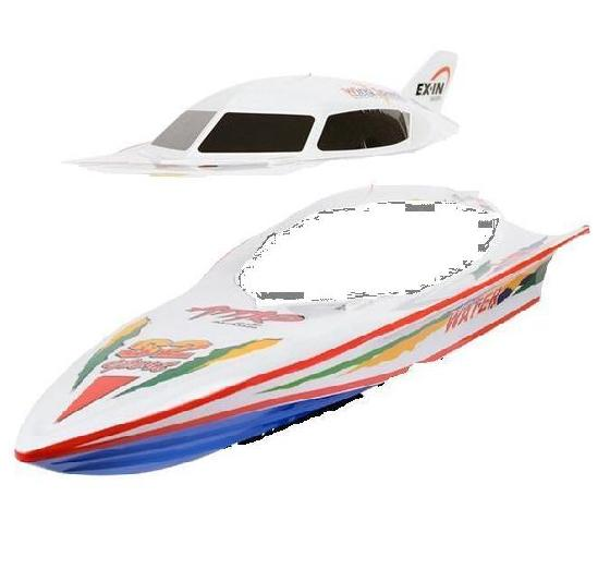 Double-horse-7000-12 Upper shell cover,canopy & Bottom boat body