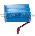 7009-parts-02 Battery with Red plug(7.2v 650mah)-The New version of Red JST jack