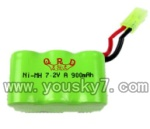 Double-horse-7010-01 battery 7.2V 900mAh