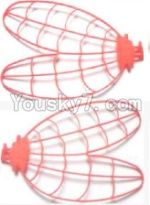 Subotech S700 Parts-10 Left and Right Wing-Red