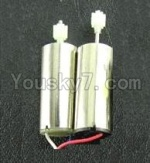 Subotech S700 Parts-31 Main motor(2pcs-Long shaft and short shaft with gear)