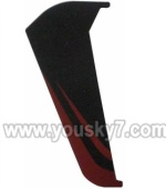 S908-parts-38 verticall wing-Red